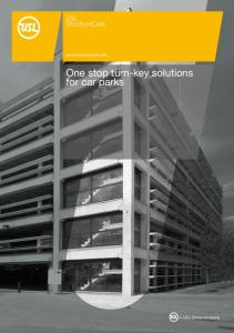 One stop turn-key solutions for car parks