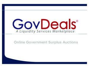 Online Government Surplus Auctions