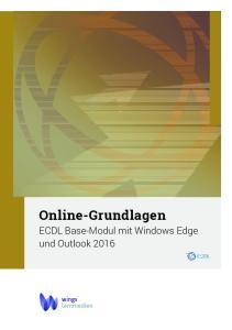 Online-Grundlagen ECDL Base-Modul mit Windows Edge und Outlook 2016