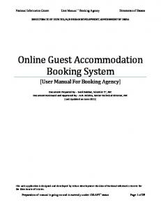 Online Guest Accommodation Booking System