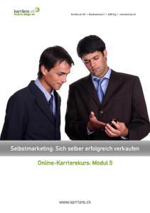 Online-Karrierekurs: Modul 5