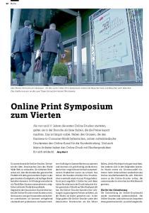Online Print Symposium zum Vierten