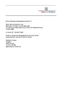 Online-Publikationen des Stadtarchivs Heilbronn 10