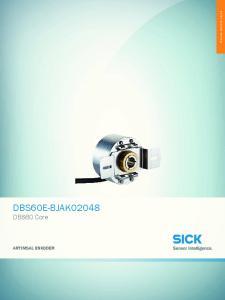 Online teknik sayfa. DBS60E-BJAK02048 DBS60 Core ARTIMSAL ENKODER