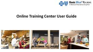 Online Training Center User Guide