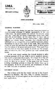 ONlVtRSITEI1 VAN SlBLE~ - ; 19th 'June, 1964