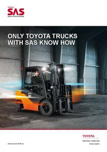 ONLY TOYOTA TRUCKS WITH SAS KNOW HOW