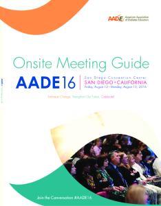 Onsite Meeting Guide