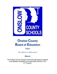 Onslow County Board of Education