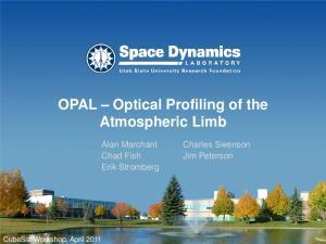 OPAL Optical Profiling of the Atmospheric Limb
