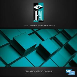 OPAL - YOUR AUTOID SYSTEM INTEGRATOR OPAL ASSOCIATES HOLDING AG