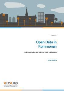 Open Data in Kommunen