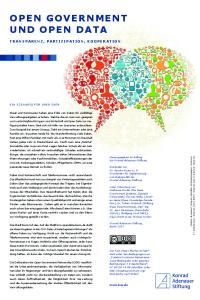 Open Government und Open Data
