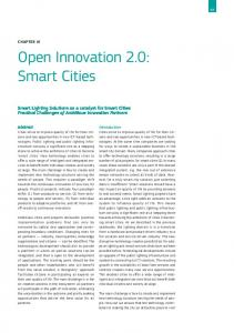 Open Innovation 2.0: Smart Cities