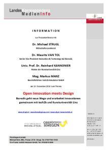 Open Innovation meets Design