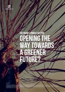 OPENING THE WAY TOWARDS A GREENER FUTURE? VIETNAM s POWER SECTOR. solidiance.  July 2015