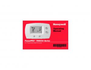 Operating Manual. Non-Programmable Digital Thermostat ES