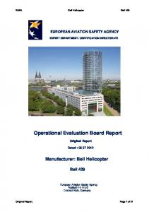 Operational Evaluation Board Report