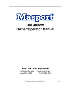 Operator Manual