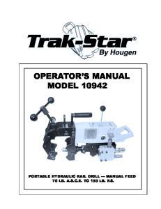 OPERATOR S MANUAL MODEL 10942