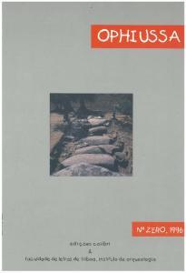 OPHIUSSA Revista do Instituto de Arqueologia da Faculdade de Letras de Lisboa