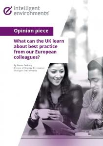 Opinion piece. What can the UK learn about best practice from our European colleagues?
