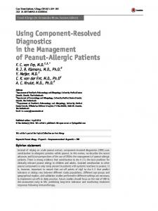 Opinion statement. Food Allergy (M Fernández-Rivas, Section Editor)