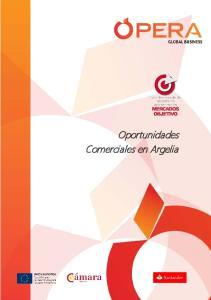 Oportunidades Comerciales en Argelia