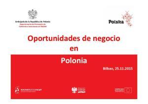 Oportunidades de negocio en Polonia