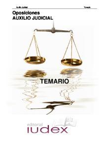 Oposiciones AUXILIO JUDICIAL TEMARIO