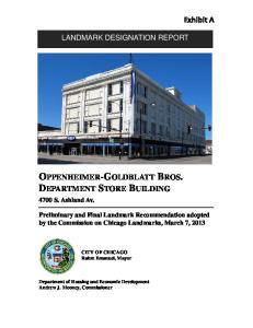 OPPENHEIMER-GOLDBLATT BROS. DEPARTMENT STORE BUILDING