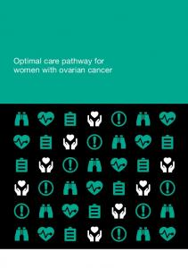 Optimal care pathway for women with ovarian cancer