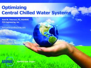Optimizing Central Chilled Water Systems