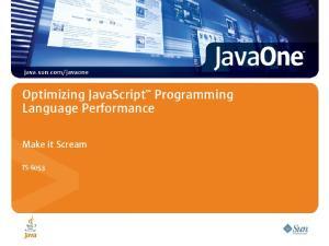 Optimizing JavaScript Programming Language Performance
