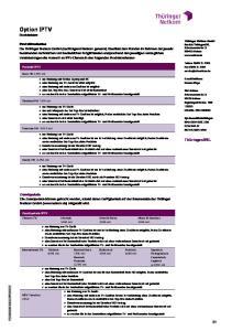 Option IPTV Produktblatt
