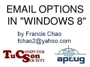 OPTIONS IN