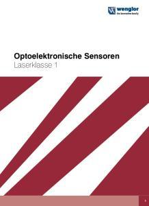Optoelektronische Sensoren Laserklasse 1