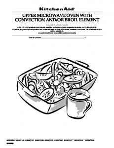 OR BROIL ELEMENT Use & Care Guide