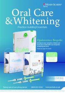 Oral Care & Whitening