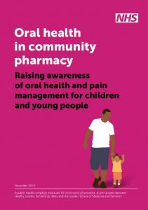 Oral health in community pharmacy