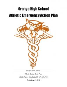 Orange High School Athletic Emergency Action Plan