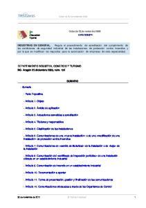 Orden de 25 de noviembre 2005