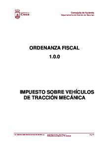 ORDENANZA FISCAL 1.0.0