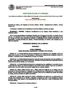 ORDENANZA GENERAL DE LA ARMADA