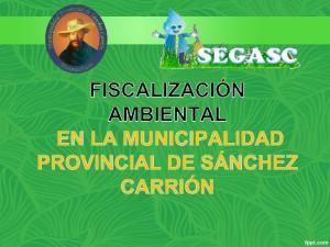 Ordenanza municipal N MPSC : Ordenanza Municipal N MPSC Ordenanza Municipal N MPSC Ordenanza Municipal N MPSC