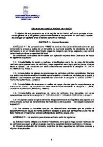 ORDENANZA REGULADORA DE VADOS