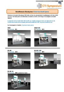 Order form Booth System