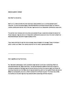 ORDER NUMBER: Dear GeoTrust Customer,