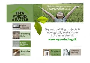 Organic building projects & ecologically sustainable building materials