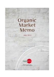 Organic market development